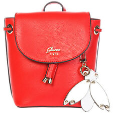 GUESS BORSA DONNA A SPALLA SHOPPING NUOVA ORIGINALE VARSITY POP MINI ROSSO 823