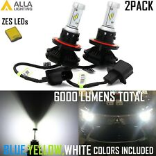Alla Lighting LED H13 Headlight Bulb Lamp Dual beam Conversion kit Upgrade White