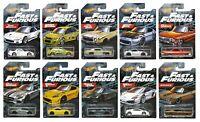 Hot Wheels 1:64 Fast & Furious Series Walmart Exclusive - Choose Cars 1/10/2021