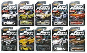 Hot Wheels 1:64 Fast & Furious Series Walmart Exclusive - Choose Cars 5/21/2021