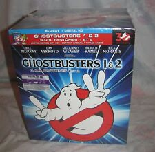 Ghost Busters 1 & 2 Limited Edition Gift Set Bluray with Slimer/Logo Display New