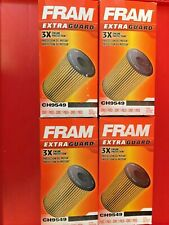 4 FRAM EXTRA GUARD CH9549 Engine Oil Filter FOR 2003-2010 FORD 6.0 6.4 DIESEL