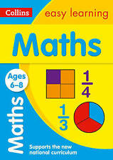 Maths Ages 6-8 (Collins Easy Learning KS1) [Paperback]