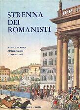STRENNA DEI ROMANISTI NATALE DI ROMA 1969