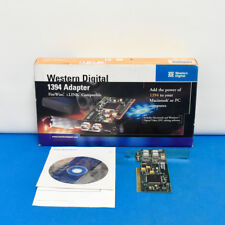 Western Digital 1394 Adapter FireWire iLINK Compatible IEEE Mac Windows