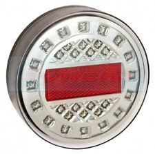 LED AUTOLAMPS MAXILAMP 1XRFE ROUND REAR FOG LIGHT LAMP 12V/24V