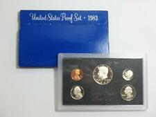 1983-S United States Proof Coin Set - Half Quarter Dime Nickel & Cent