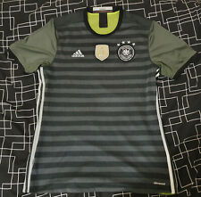 Germany 2016-17 Adidas Climacool Reversible Away Shirt - Large L