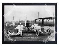 Historic Tommy Milton & Howdy Wilcox H.C.S. Specials 1923 Indy Postcard