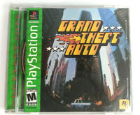 Grand Theft Auto (Sony PlayStation 1, 1998) PS1 Complete CIB W/ Manual