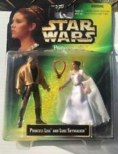 Princess Leia & Luke Skywalker STAR WARS 1997Collection NIB Kenner Free Shipping