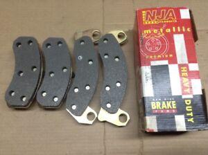 New NJA Metallic Disc Brake Pad Pads Front MD499A