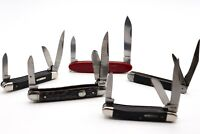 Lot of 5 - Vintage Pocket Knives - Victorinox, Imperial, Colonial, Sabre, Camco