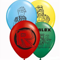 """ROBLOX 12"""" Latex Balloons Birthday Party Bag Filler 12 or 24"""