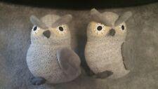 door stops owls x2 new