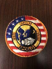 NASA Apollo One White Chafee & Grissom patch set-BLK & GMY Border