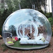 Bubble Tent Inflatable Transparent Clear Dome Outdoor Lawn Camping Blower Kit F5