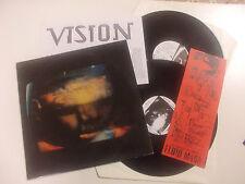 "Fluid Mask ""1½"" LP + 12"" Vision 17 SWITZERLAND 1989 INSERT"