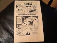 MONSTER FUN BADTIME BEDTIME BOOK 1970's Paper pull / cut out GHOUL DILOCKS