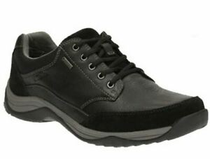 Clarks Sportschuhe aus schwarzem Leder, BaystoneGo GTX