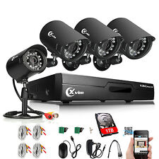 Xvim 8Ch Hdmi Dvr 720P Outdoor Cctv Surveillance Camera Home Security System 1Tb