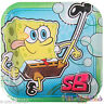 SPONGEBOB SQUAREPANTS Bubbles SMALL PAPER PLATES (8) ~ Birthday Party Supplies