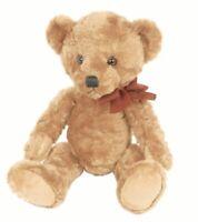 Suki 17015 Oscar Teddy Bear Medium with Organza Pull String Bag