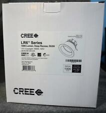 CREE LR6 Series 1000 Lumens Deep Recess GU24 LED Downlight NIB