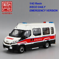 AURORA 1/43 Resin Police Truck Model Collectio IVECO Daily Emergency(BU)Version