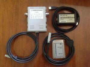ROHDE&SCHWARZ Directional Power Sensor NRT-Z44 with adapters NRT-Z5 + NRT-Z4