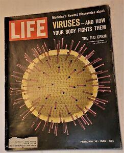 February 18, 1966 LIFE Magazine Walters Feb 60s advertising 2 FREE SHIPPING 19