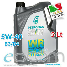 Olio Motore SELENIA WR 5W40 LATTA DA 5 LITRI FIAT/ALFA/LANCIA PER MOTORI DIESEL