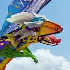 3D Drachen 137 x 86cm mit Glasaugen Flug-Drachen 3-dimensional Kinderdrachen NEU