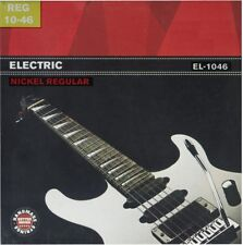 Vernickelter Stahl Saitensatz für E-Gitarre , 10-46, Regular, I1
