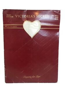 Vintage Victoria's Secret Fishnet White Pantyhose Small