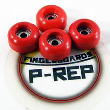 Peoples Republic- CNC Lathed Bearing Wheels for wooden fingerboard  - Red