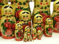 Matrioska bambole in legno 16 pezzi