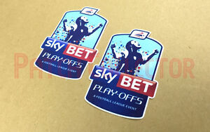 Skybet Football League Playoff 2014-2016 Sleeve Soccer Patch / Badge