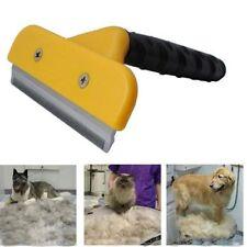 Cepillo peine quita pelo perros gato mascota acero inoxidable pelo corto y largo