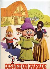 "1971 Disneyland Souvenir Publication: ""DISNEY ON PARADE"""