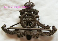 dIN059 - WWI British Army Royal Artillery Cap Badge