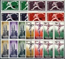España - Año: 1960 - Nº 1280/89 - ** C.I.F.en bloque de 4