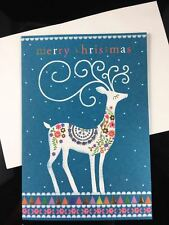 Christmas card & New Year card Bronzing cover full of artistic sense A SET!!!