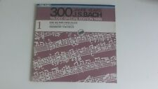 300 Jahre Bach Edition 1985 Vol 1 Herbert Tacheze Teldec NM 2 LP