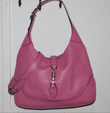 GUCCI JACKIE  SHOULDER BAG  PURSE PINK LEATHER AMAZING! RET WELL OVER 2K! NWT