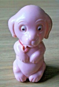 VINTAGE BABY'S RATTLE - DOG BY TUDOR ROSE