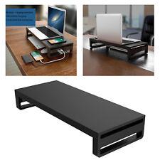 Metall Computer Monitor Stand Computer Riser Unterstützung Büro Schreibtisch
