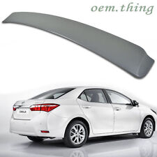 !NEW ITEM ! TOYOTA ALTIS Corolla 4D Saloon EU Rear Roof Spoiler Wing 2014-2016