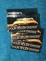 YOUR ROLEX OYSTER BOOKLET 1983-1989 All English All Authentic -Choose Date-