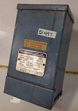 JEFFERSON ELECTRIC  .250KVA 1PH POWERFORMER TRANSFORMER 211-041